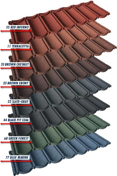 Composite tiles evertile Composite roofing tiles
